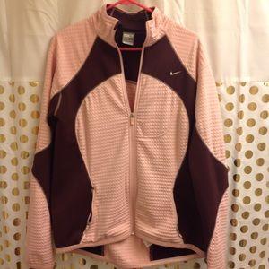 Nike Fit Therma Jacket Sweatshirt zip up XL
